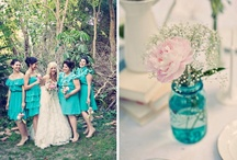 Wedding Inspiration / vintage, French countryside, sunflower accents, whimsical details, eclectic / by Keri Kae Nacin