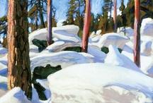 Winter-landscapes / by Joke van Dijk