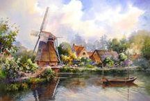 Dutch landscapes / by Joke van Dijk