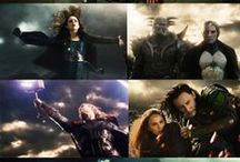 for asgard! / An Avengers Board. And there most surely are spoilers here! :)  / by Bethany Stellpflug