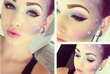 Makeup Inspiration. / Artistic Makeup.  That which can inspire me. / by Elizabeth