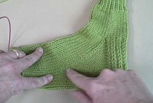 "knit: socks: beginner / This is for ""you know who"". Not ""You Know Who"". Sock knitting is very easy. I promise. Here are some bits I think are helpful as a starting point, but myriad options and methods will land you at your own unique style. / by MayMay"