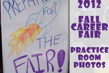 Fall Career Fair 2012 - Practice Room - Photos / by ODU Career Management Center