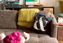 come stay a while / decor // ideas // home / by Ashley Eller