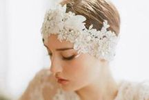 wedding headpiece & hat / by Kimie Kitamura