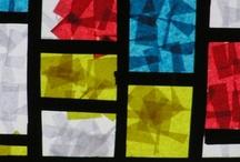 Kunst Mondrian / by Annette Fladung