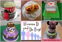 Momma D Cakes / Cakes made by Momma D and Da Boyz / by Momma D and Da Boyz