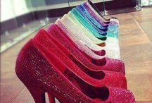 Shoes: Heels, Wedges, Sandals, Flats, etc, / Shoes, Shoes, Shoes  - Fashion for feet! / by Chava Coleman-Perry