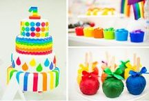 Rainbow First Birthday / by Keera Sama