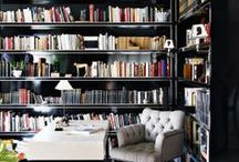 Shelves, libraries, storage, and media / by Kristen Reifsteck