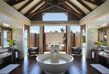 Dream Master Bathrooms - Showers - Bathtubs / Everything master bathrooms, showers and bathtubs from the ultra exotic to the ultra expensive to the informal but elegant and everything in between. / by Mobile Austin Notary
