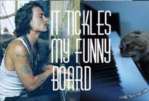 It Tickles My Funny Board / You are never fully dressed without a smile! / by Mallorie Lancaster