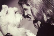 A girl and her dog......... / by Kristin Snyder