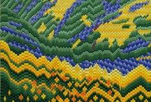 Bargello / Bargello needlepoint, Bargello quilts, charts, inspiration for Bargello patterns, and anything related to Bargello, hungarianpoint, or florentine embroidery / by Janet Perry (Napa Needlepoint)
