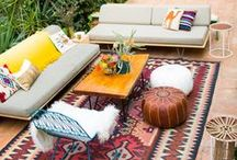 out door living / always looking for fun landscape ideas to expand our out door living spaces. / by C Brown