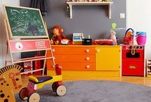 play space and bedrooms / furniture, objects and color combos ideas for my daughters room and play areas / by C Brown
