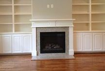 fireplace / we live in an older home-looking to update the fireplace without a major renovation. / by C Brown
