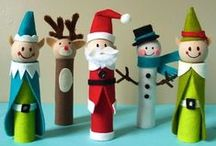 kids christmas crafts / seasonal arts and crafts for kids / by C Brown