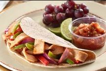 Turkey Fajitas / Easy, delicious turkey fajita recipes your family will enjoy.  / by Jennie-O®