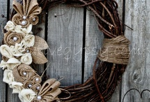 Wreath Me Up, Baby--Wreaths & Swags / by Nori Hendry