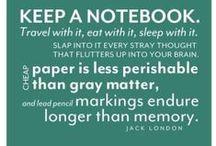 Journals / by Wynter Black