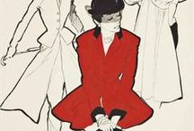 Rene Gruau / Italian fashion illustrator / by Karilyn Jorgens
