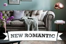 Eijerkamp ♥ New Romantic / Materialen zijn stoer linnen, brons en koper. New Romance is romantisch en vrouwelijk, decoratief met een twist. / by Eijerkamp - Wooninspiratie, tips & trends