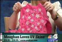 UV Skinz in the Media! / See for yourself what the buzz is all about! / by UV Skinz - Worry Free Sun Protection