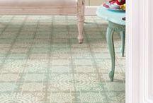 Floors, tiles & carpets * Olliebollies / by Olliebollies ♥