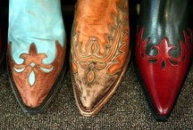 Boots...made for walkin' / by Dee Ann Davis