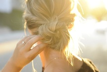 hair + beauty / hair and beauty styles and tips / by Jane Bruner