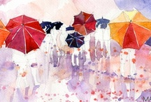 watercolor / i just can't get enough of watercolors... / by Jane Bruner