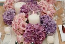 Floral Centerpieces / by Renee' Snow