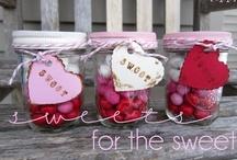 Mason Jars ~ Holidays ~ Valentines & Hearts / by Linda S