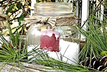 Mason Jars ~ Seasons ~ Winter & Snowmen / by Linda S