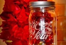 Mason Jars ~ Holidays ~ New Years / by Linda S