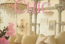"SHABBY CHIC DESIGN / Decorating ideas for the ""Shabby Chic"" fan....... / by Carolyn Dreibelbis"