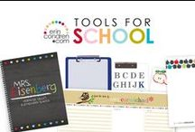 tools for school / simplify & stylize every week in the classroom with our tools for school!  / by erincondren.com