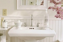 Upstairs Bath / Ideas to re-do the half bath/powder room / by Melissa Haak