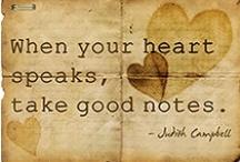...wise words... / by Rebecca Jacks