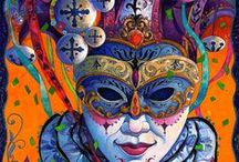 masks / by Yvonne Fitzell