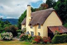 thatched cottages / by Yvonne Fitzell