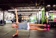 get fit  / by Ashley Kinnear