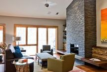 Mountains Home / Ideas for my mountain home / by Rhaine Clayton