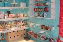 Craft Room Ideas. / I'm finally going to have a craft room! These are all the decor ideas I like. / by Sarah Takacs