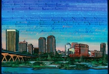 RVA / Richmond, Virginia has been the adopted home to one semi-native Virginian and one itinerant Yankee since 2004. Our kids are native-born Richmonders! We love this city. / by Phoenix Handcraft