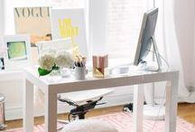 Home // Work / by Megan Schachtebeck