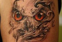Tattoo's / by Janie Schaafsma