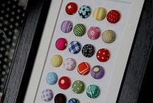 COVERED BUTTONS / by Pink Chalk Fabrics - Modern Quilt Fabric and Sewing Patterns