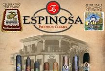 Espinosa Cigars / Espinosa cigars are handmade in the La Zona Cigar Factory located in Esteli, Nicaragua.  The Espinosa range includes the Espinosa Habano, La Zona, Murcielago, & the 601 Series which includes the Blue, Green, Red & La Bomba Series. It is the mission of the Espinosa Cigar Company to creat and deliver to the cigar consumer an reasonably priced cigar of the highest quaility. The specific goal is to creat an Espinosa cigar for every palate, occasion and day.  / by Absolute Cigars